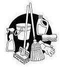 House Cleaning  House Cleaning Clip Art Black White