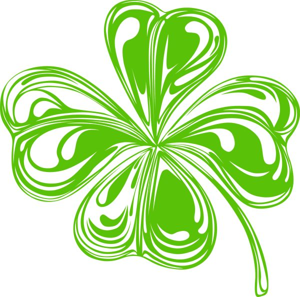 Irish Celtic Clover Art   St  Patrick S Day Clip Art
