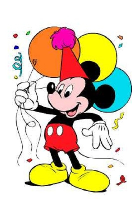 Mickey Mouse Birthday Clipart Mickey Mouse Birthday Wallpaper Jpg