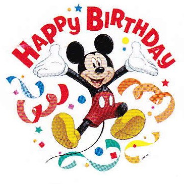 Mickey Mouse Happy Birthday Clip Art Book Covers