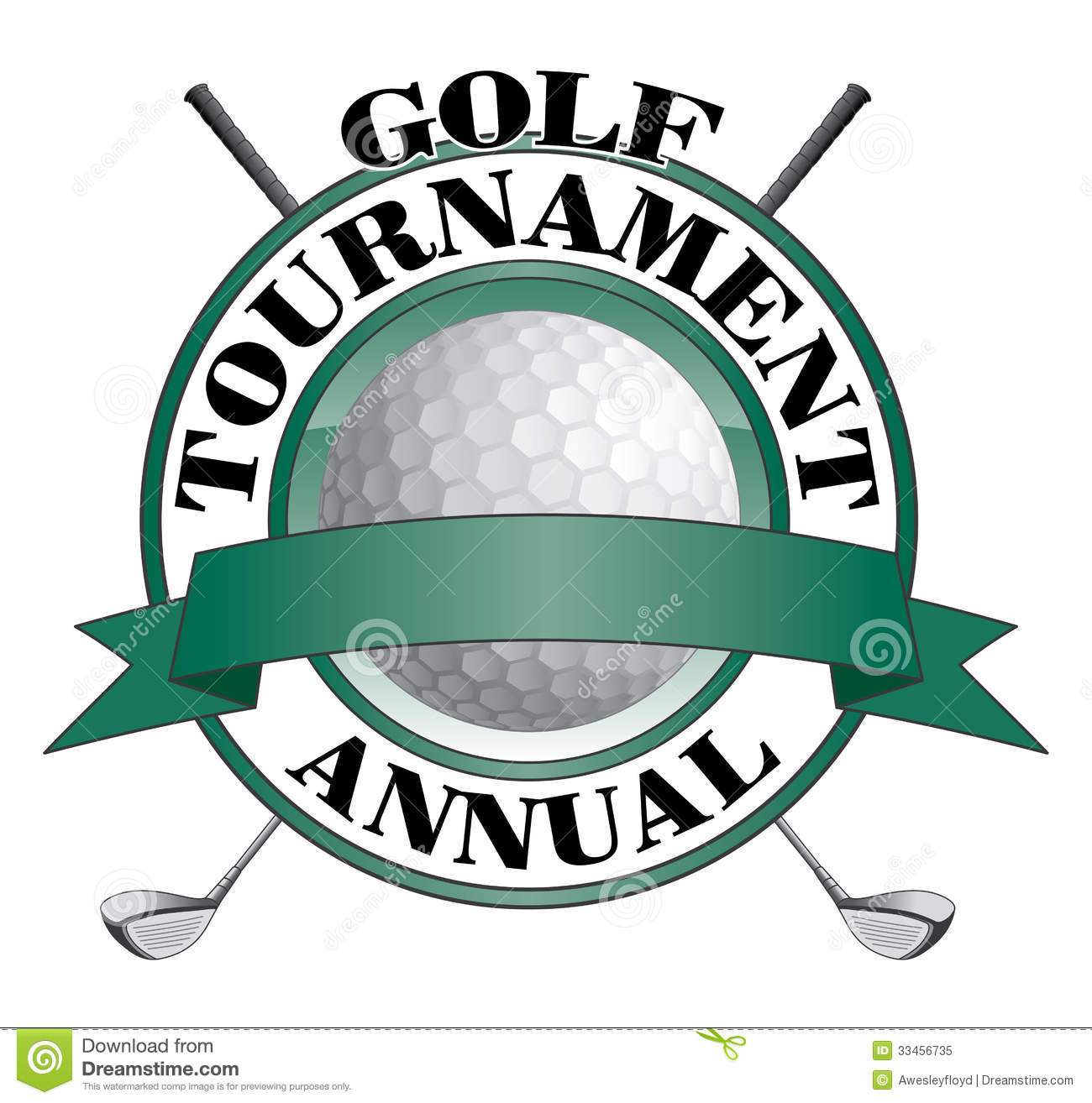 Of An Annual Golf Tournament Design  Contains Golf Clubs And Golf