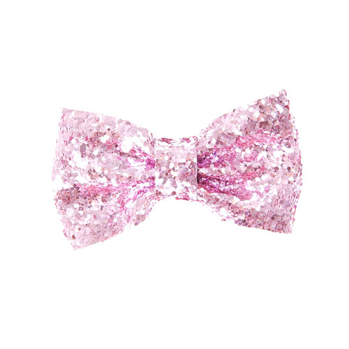 Pink Glitter Bow Hair Clip Hair Bows Your Fave S All Hair Clips