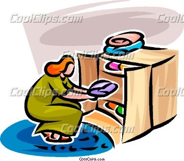 There Is 52 Clip Art Of Putting Away Clothes In Drawers Free Cliparts