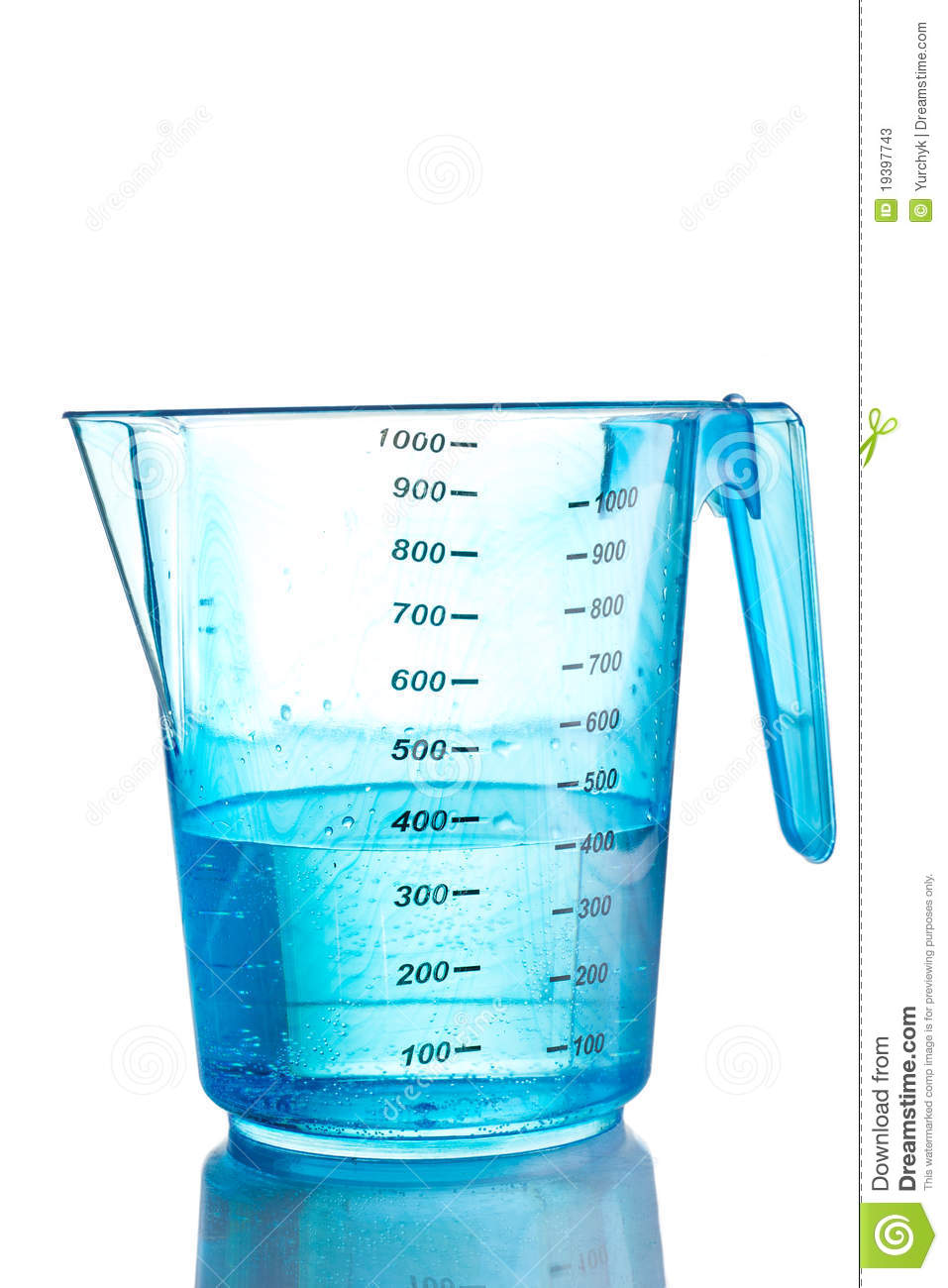 Measuring Cup Of Water Clipart - Clipart Suggest