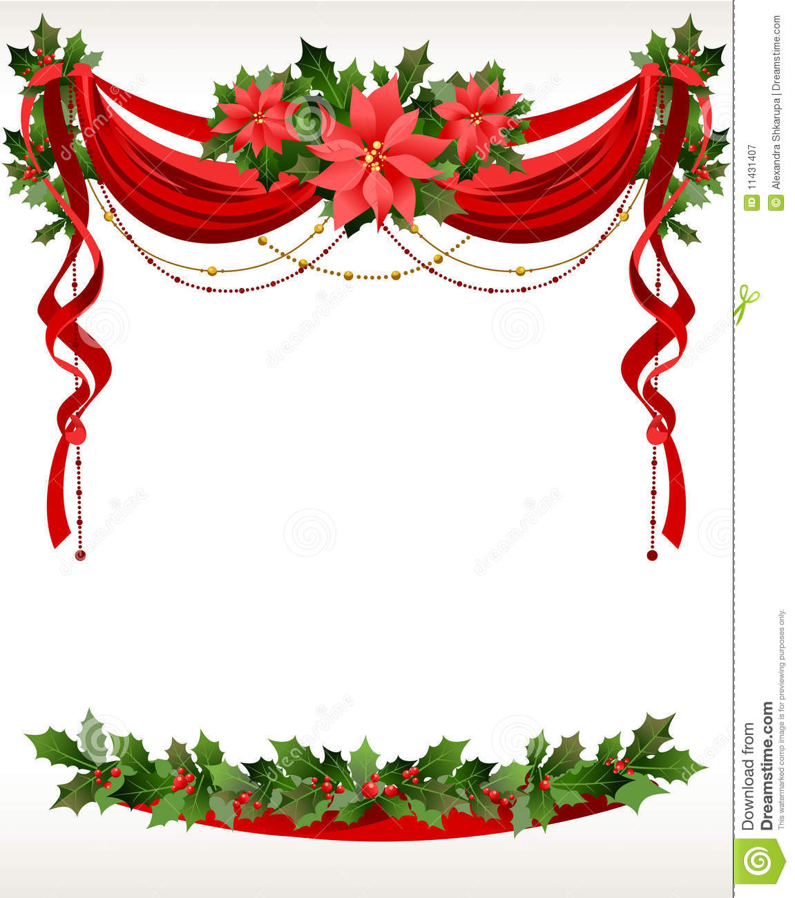 Christmas Frame Clipart - Clipart Kid