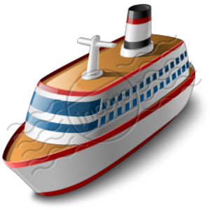 Cruise Ship   Free Images At Clker Com   Vector Clip Art Online