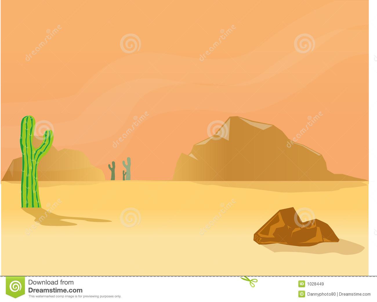Desert Scenes Clipart - Clipart Kid