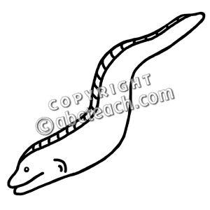 Clip Art Eel Clipart eel clipart kid bw pw jpg