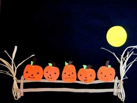 Five Little Pumpkins Sitting On A Gate   Cute And Fun Halloween Poem
