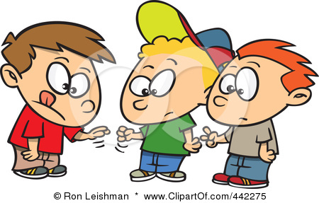 Royalty Free Rf Clip Art Illustration Of A Cartoon Group Of Boys