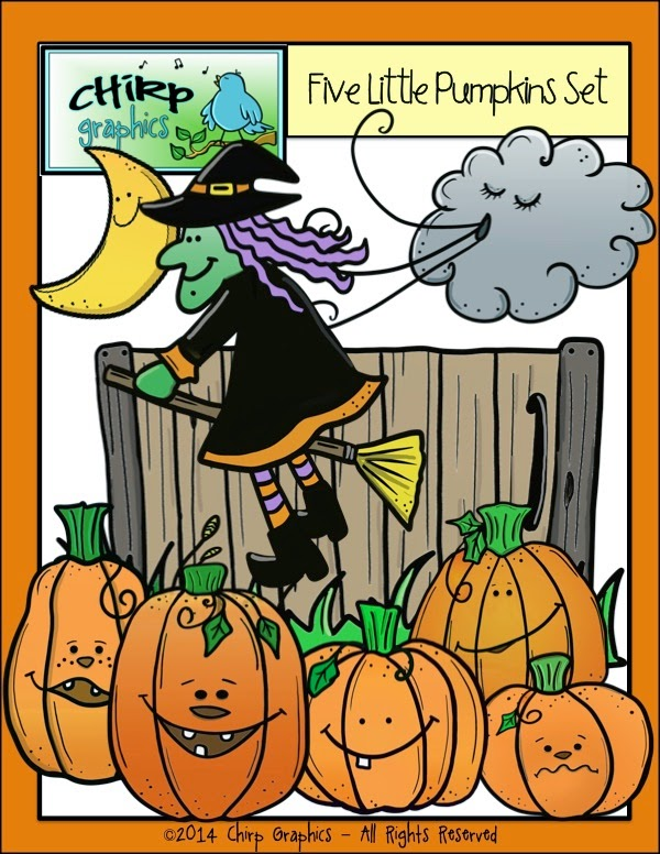 Teach Easy Resources  Free Five Little Pumpkins Sitting On The Gate