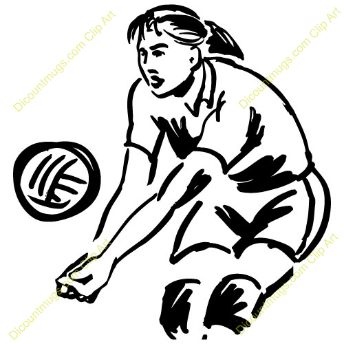 Love Volleyball Clipart - Clipart Kid