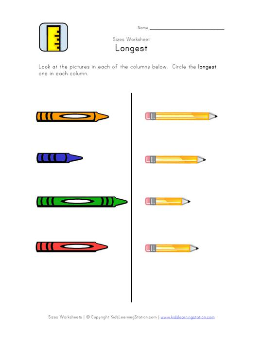 Activity Worksheet Featuring Crayons And Pencils Where Students Must