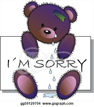 Apology Clipart I M Sorry   Royalty Free Clip