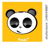 Bamboo Clip Art Vector Panda Eating Bamboo   153 Graphics   Clipart