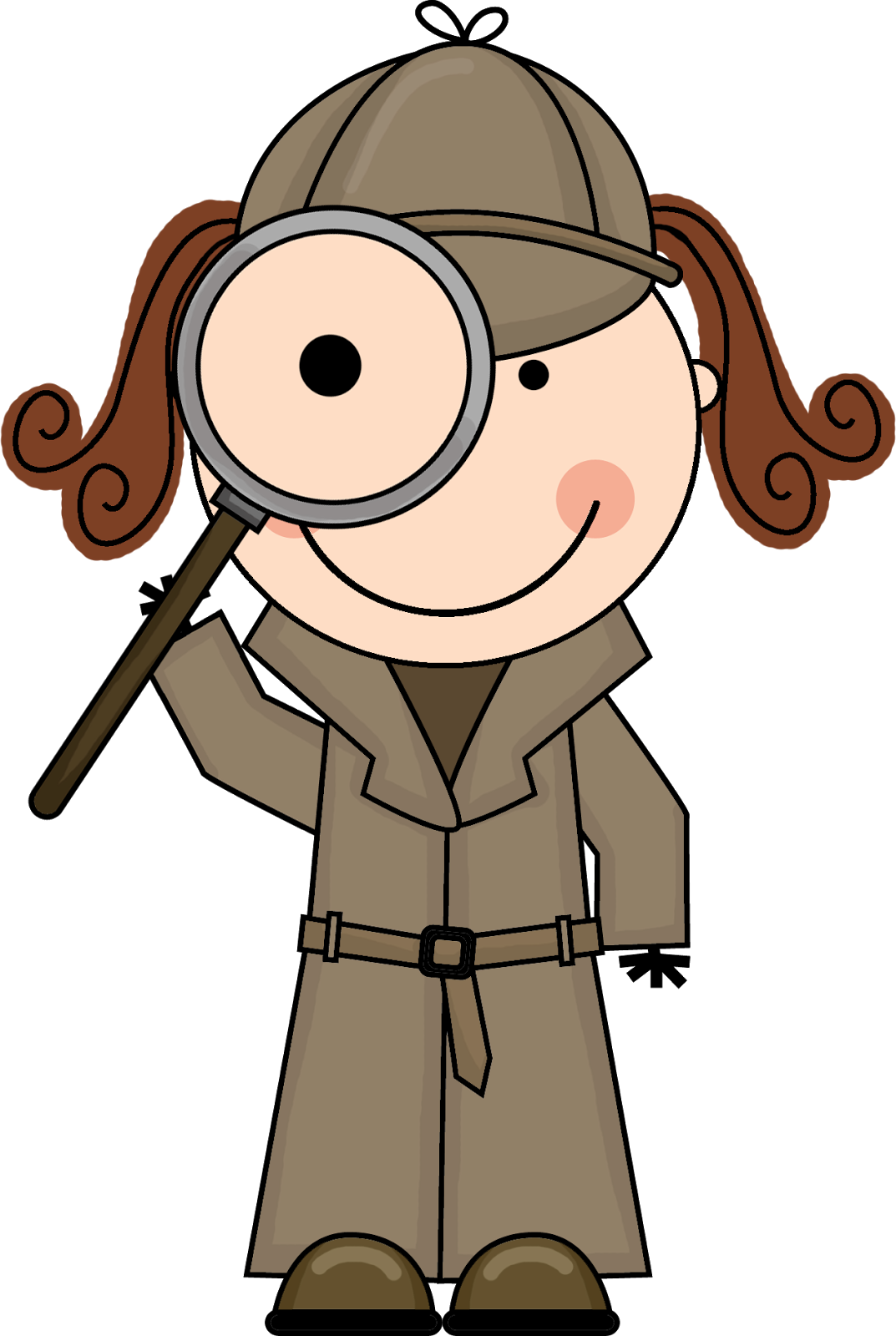 Detective Clipart Free Kid Detective Clipart Detective Kid3 Png