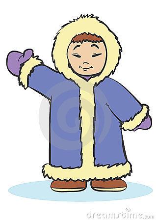 Eskimo Clipart - Clipart Kid