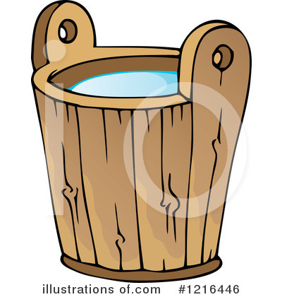 Royalty Free  Rf  Water Bucket Clipart Illustration By Visekart