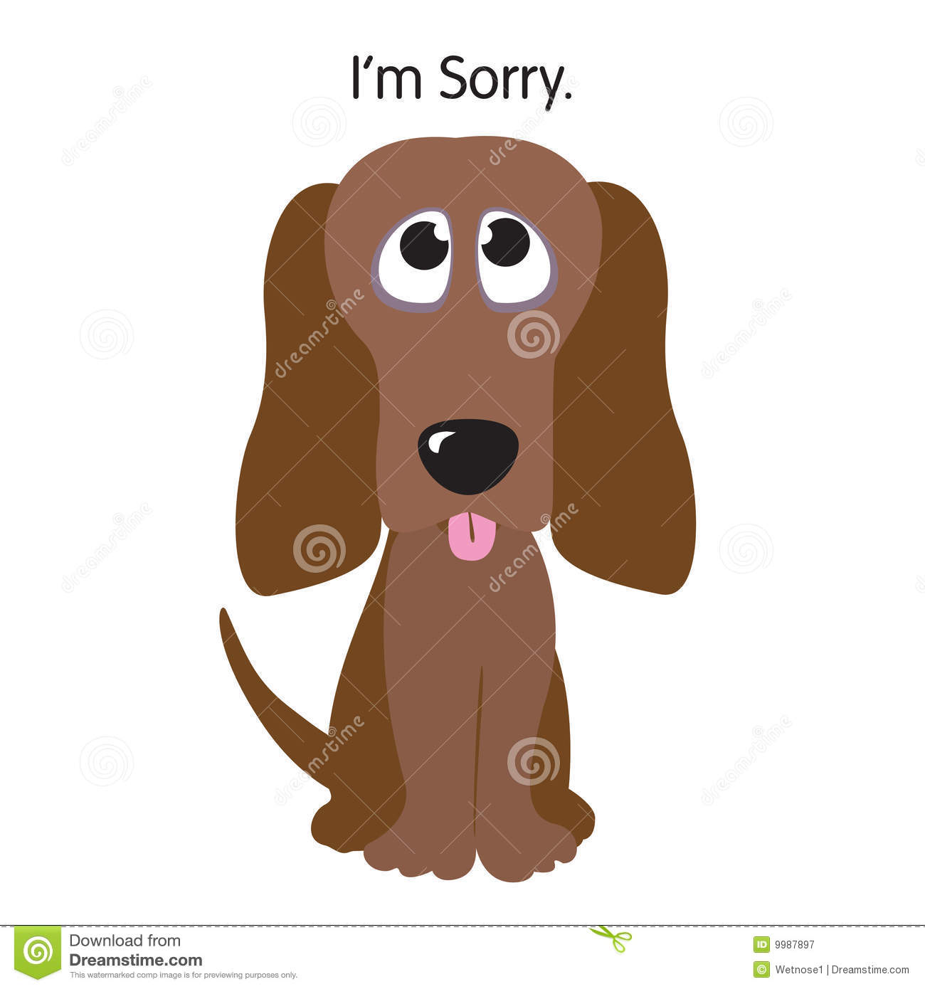 I'm Sorry Clipart