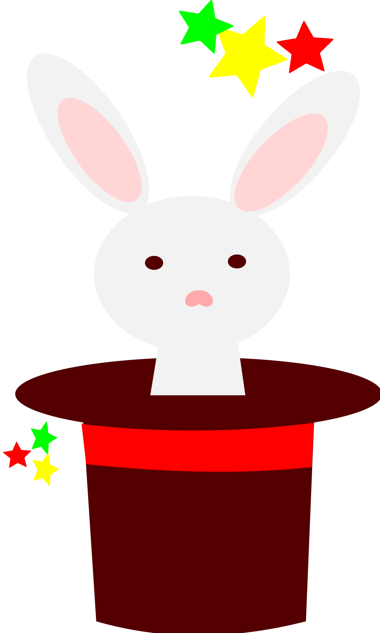 White Rabbit In A Hat By Loveandread