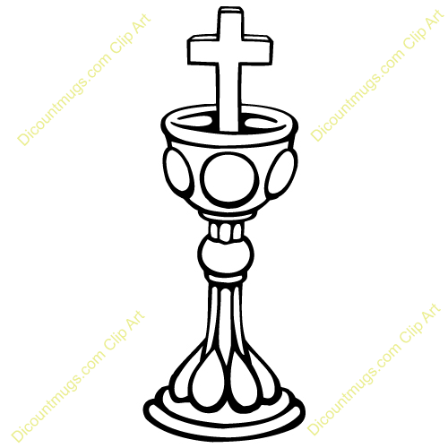 Catholic Chalice Clipart Host Chalice