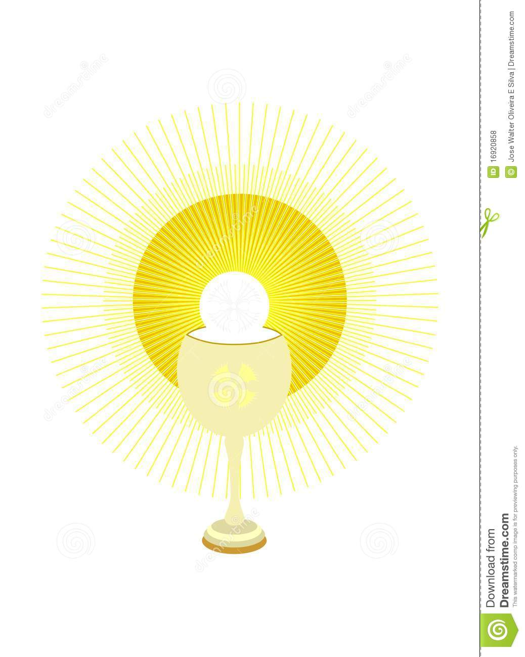 Chalice And Host Clipart Chalice And Holy Host And