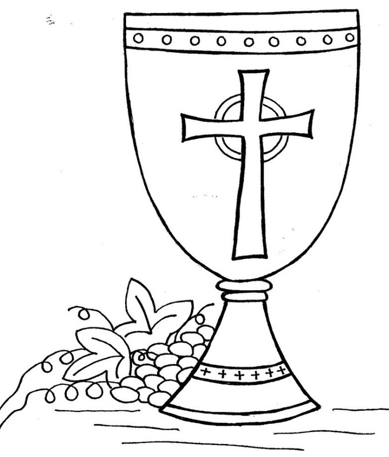 Chalice And Host Clipart Clipart Suggest