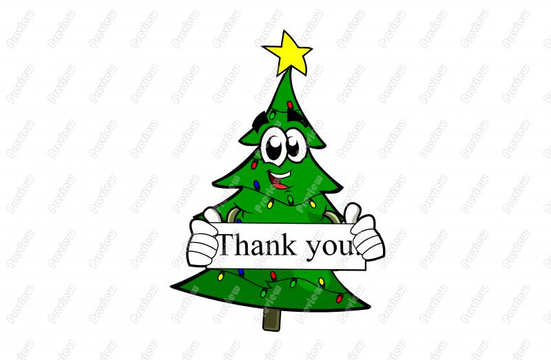 Christmas Thank You Clipart - Clipart Kid