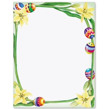 Easter Bunny Border Clipart - Clipart Kid