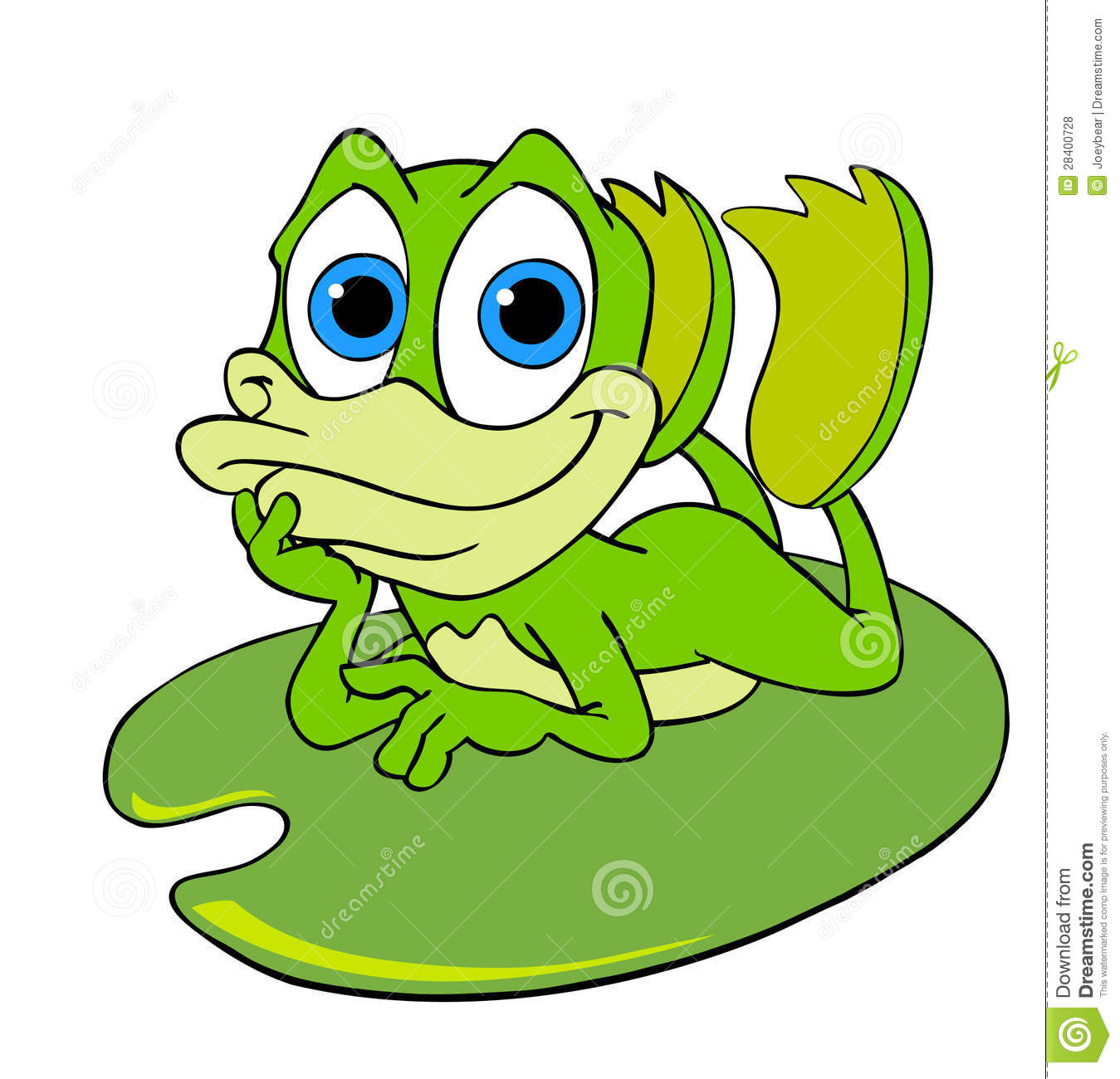 Frog On Lily Pad Drawing Cute Frog Lily Pad 28400728 Jpg