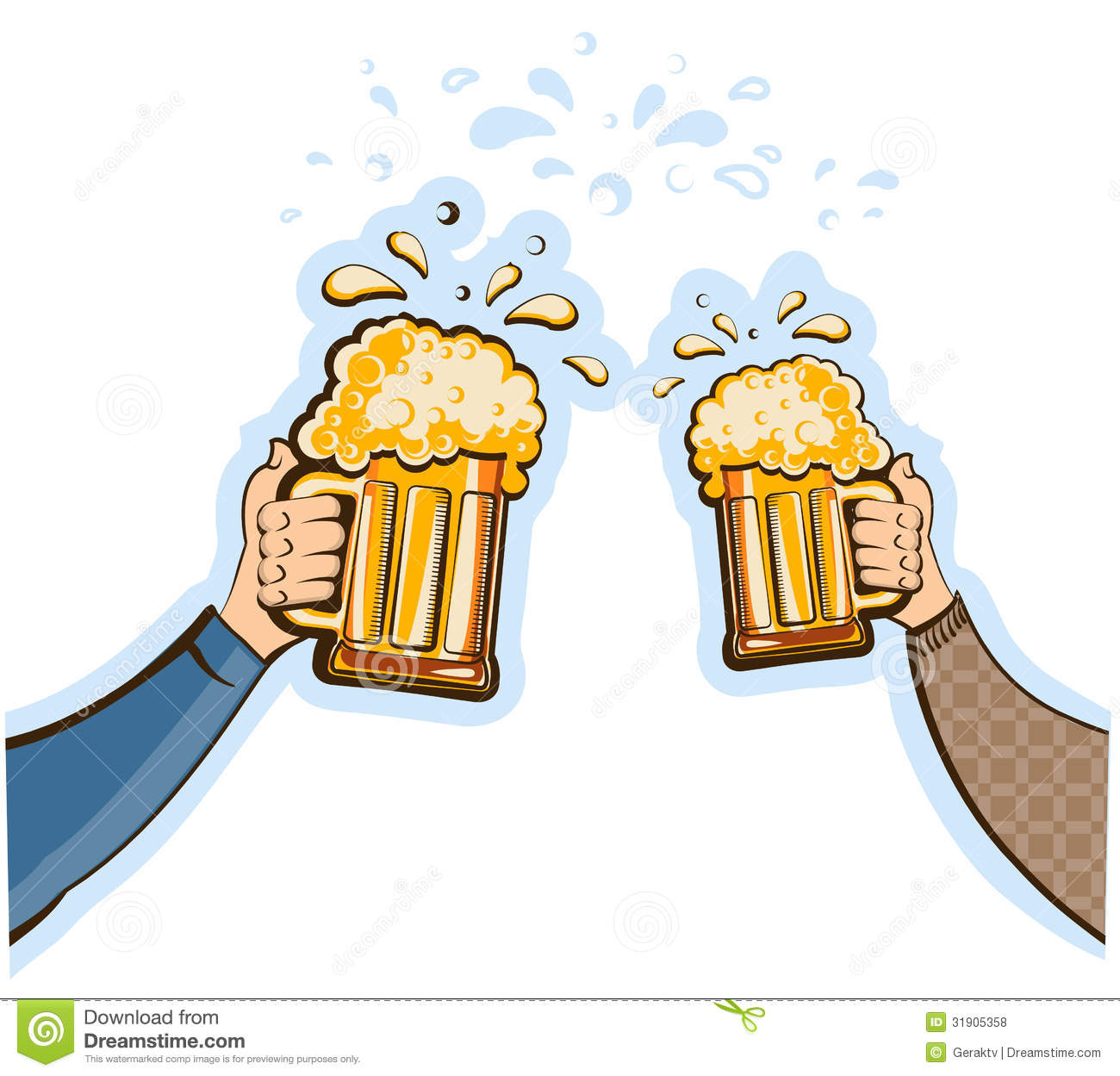 Beer Cheers Clipart - Clipart Suggest