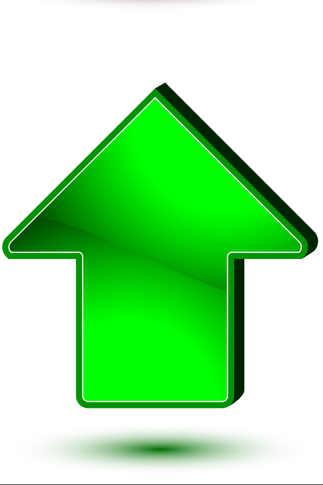 Green Arrow Clipart - Clipart Suggest
