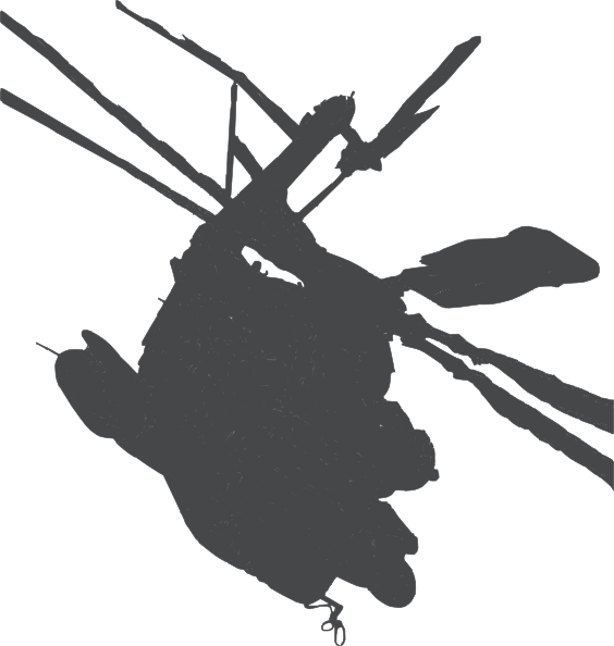 Helicopter Silhouette Clip Art At Clker Com   Vector Clip Art Online