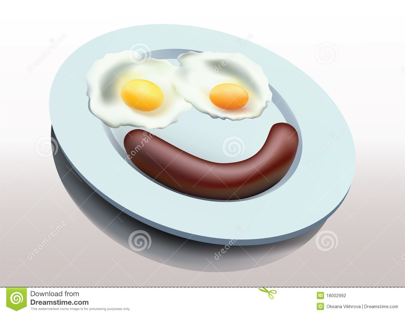 Sausage And Eggs Clipart - Clipart Suggest