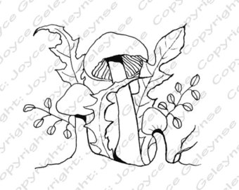 Stamp Clip Art Embroidery Design Commercial Use Hand Drawn Clipart