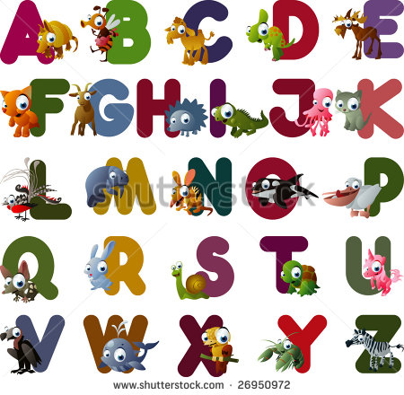 Vector Animal Alphabet   26950972   Shutterstock