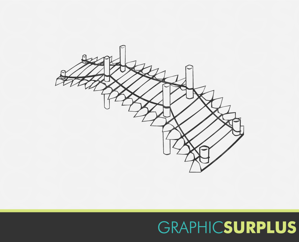 Wood Bridge Clipart