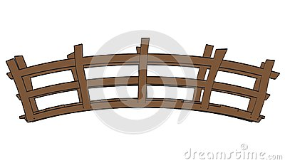 Wood Bridge Clipart Wooden Bridge