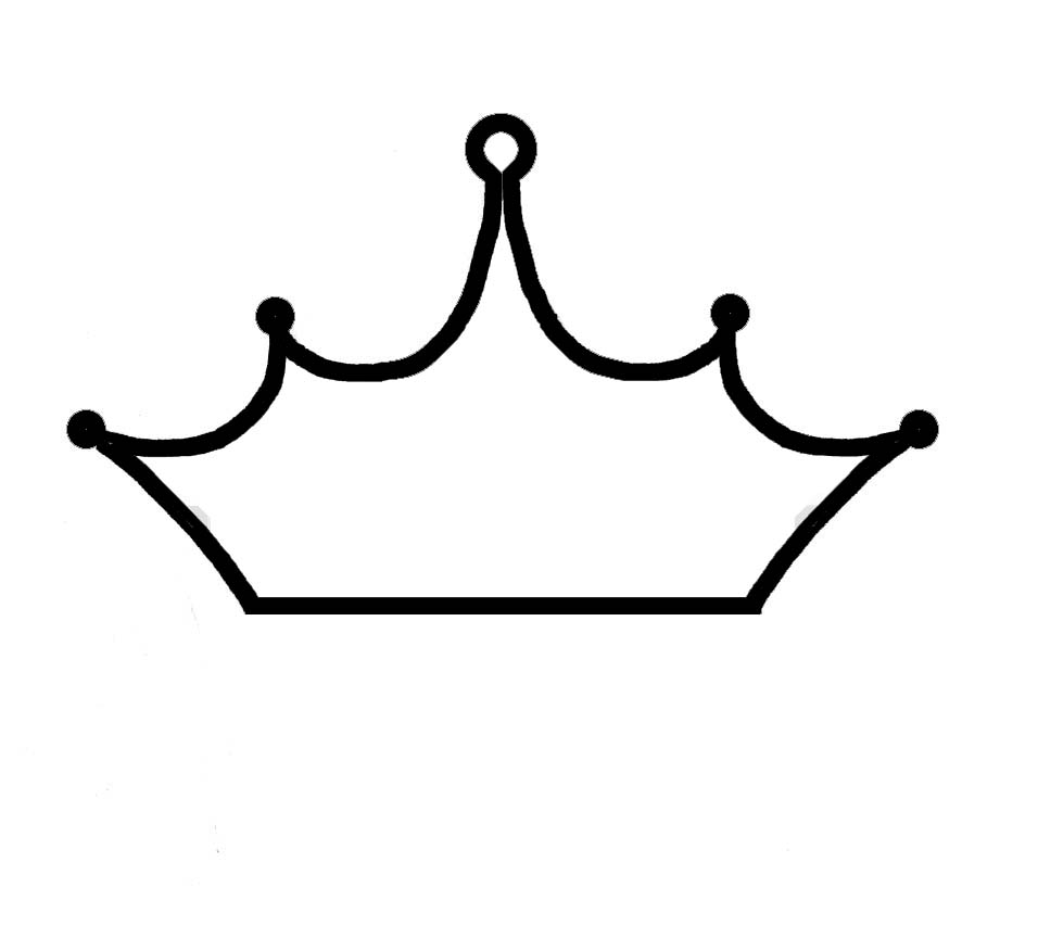 Black And White Crown   Cliparts Co