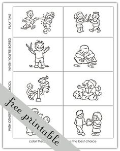 Printables Making Good Decisions Worksheets decision making worksheets for kindergarten intrepidpath the right choices clipart kid