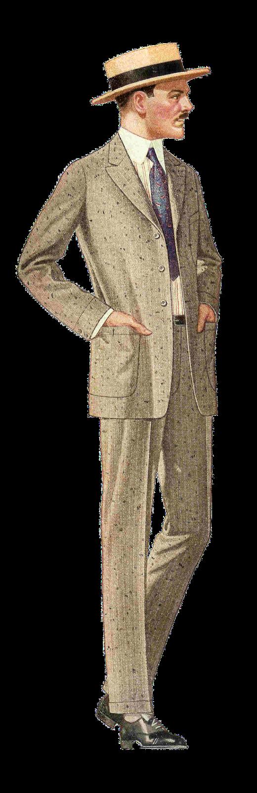 Men's Fashion Clipart - Clipart Suggest