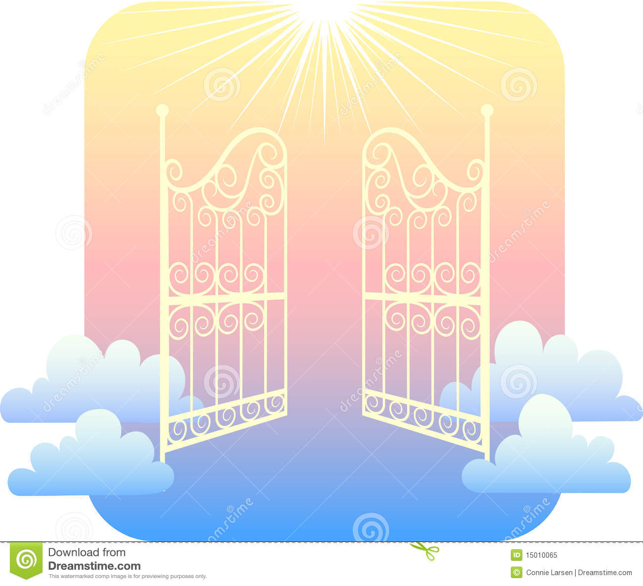 Gates Of Heaven Clipart Images   Pictures   Becuo