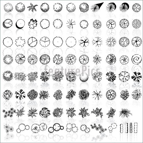 Landscaping Symbols Clipart Clipart Suggest