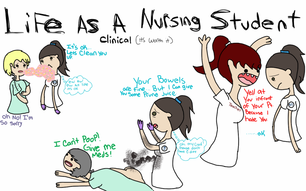 Life As A Nursing Student   The Making Of A Nurse
