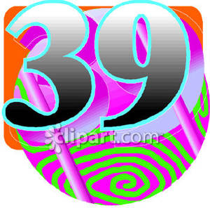Retro Number 39 Royalty Free Clipart Picture 081026 182794 418048 Jpg