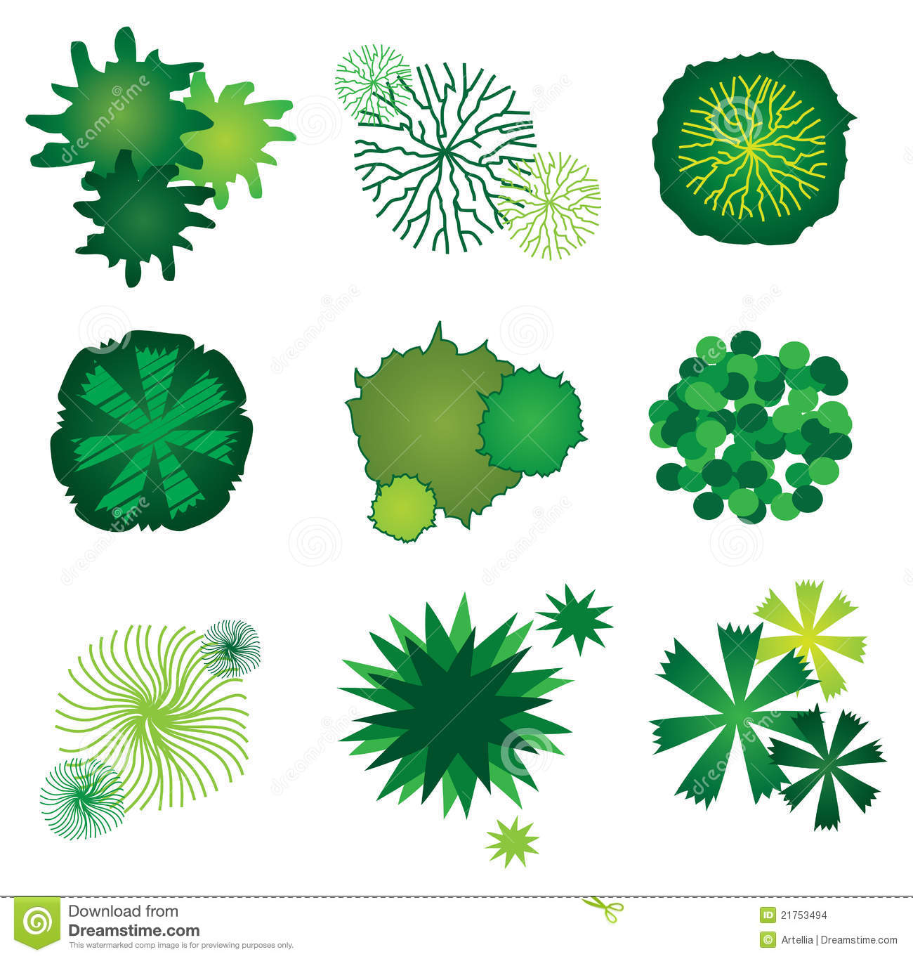 Landscaping symbols clipart clipart suggest for Landscape design icons