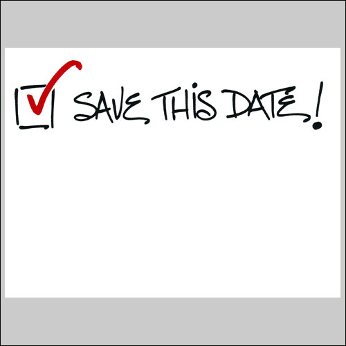 conference save the date template - save these dates clipart clipart suggest