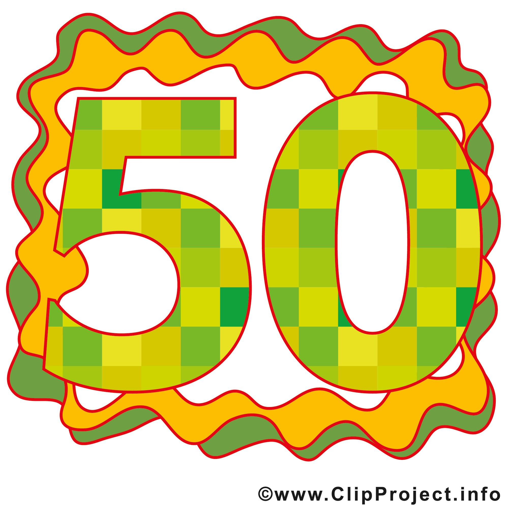 cliparts kostenlos geburtstag 50 - photo #9