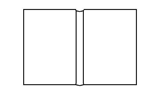 Book Template Clipart - Clipart Kid