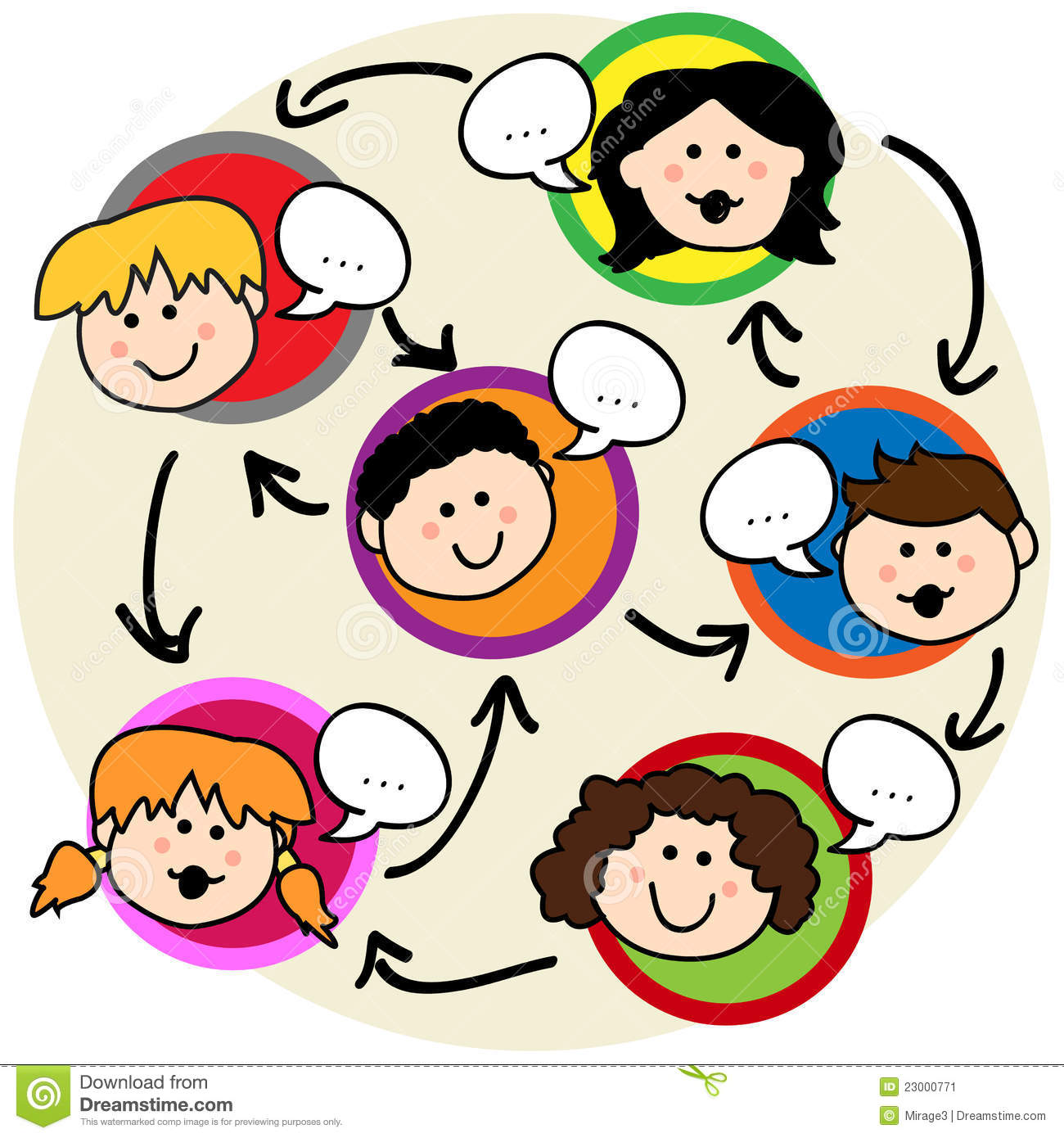 Group Discussion Clipart - Clipart Suggest